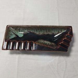 Mid century modern vintage ashtray.